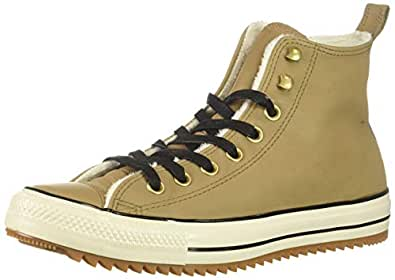 Converse Chuck Taylor All Star Hiker Boot Sneaker, Teak/Black/Natural Ivory, 3 M US