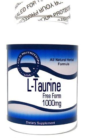 L-Taurine 1000mg 100 Capsules ^GLS