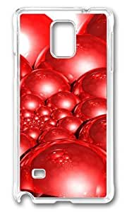 Adorable Doyle Spiral Red 3D Hard Case Protective Shell Cell Phone Iphone 5C - PC Transparent