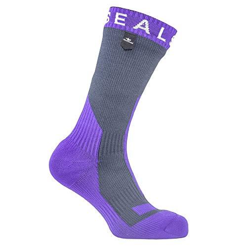 hick Mid Socks, Medium, Grey/Purple ()