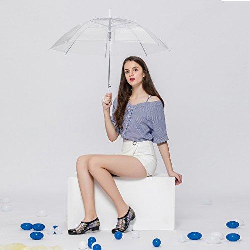 Più Caldo Più Alla Moda Alla Moda Scintillio Signora Scarpe Da Pioggia Bassa Skidproof / Impermeabile Giorno Di Pioggia / Lavoro Giardino / Attività Allaperto Purplechain