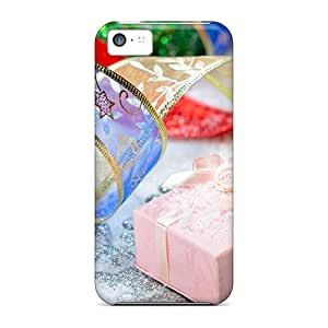 Defender Case For Iphone 5c, Color Christmas Pattern