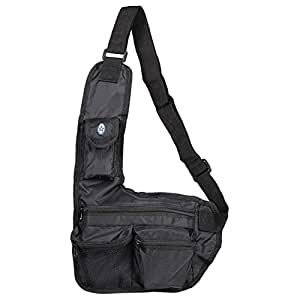 Sttelli One Strap Unisex Backpack - Black