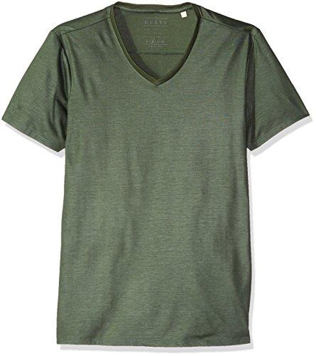 GUESS Mens Mason Yoke T Shirt