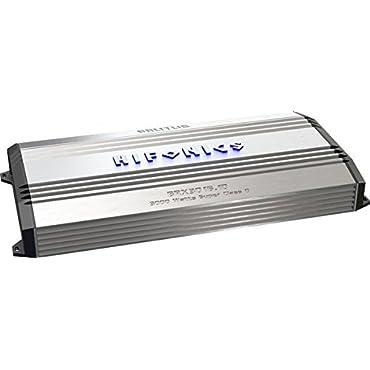 Hifonics BRX3016.1D Brutus Mono Super D-Class Subwoofer Amplifier, 3000-Watt