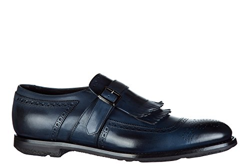 Churchs Mens Classic Leather Formal Shoes Slip on Monkstrap Shanghai Blu gWrEdW