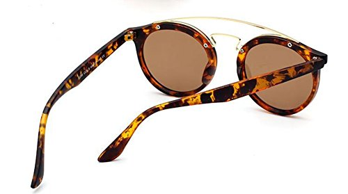 en lunettes Local métallique Or style de polarisées inspirées cercle rond Lennon retro vintage du soleil RwRgqW6rz