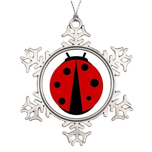 Christmas Snowflake Ornament Ideas for Decorating Christmas Trees Denton Blank One -