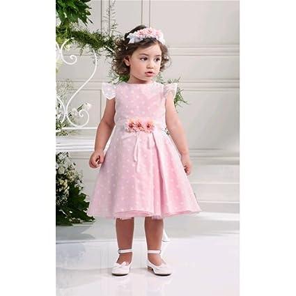 Vestiti Cerimonia Bambina 9 Mesi.Vestito Abito Cerimonia Comunione Femminuccia Bambina 9 24 Mesi