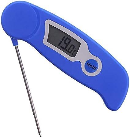 Monitor de sonda digital termómetro de tierra suelo temperaturas antes de siembra y plantación de semillas
