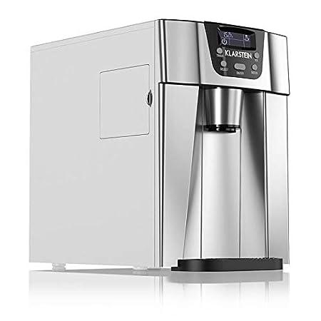 Klarstein Ice Volcano 2GR • Machine à glaçons • Réservoir d'eau de 2 litres • Compresseur haute capacité • Silencieuse • Panneau de commande intuitif • 2 tailles de glaçon au choix • Rou