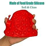 KKMO 1 Piece Silicone Pops Bubble Sensory Fidget