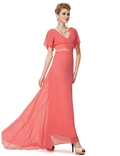 Pretty Ever V Festkleider Karolle Damen Schleppe Lange 09890 Abendkleider Ausschnitt mit rrEdKHqw