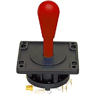 Suzo Happ Happ Red Ultimate Joystick 8 Way with Switches