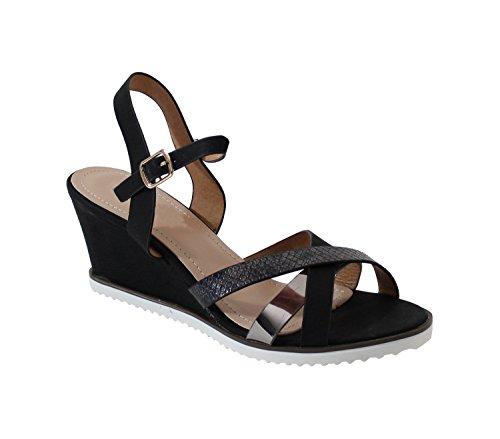 By Shoes - Sandalias para Mujer Noir