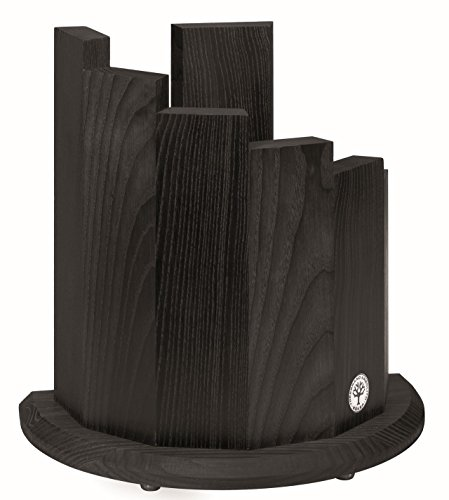 Boker 30400 Wood Magnetic Knife Block, Black by Böker