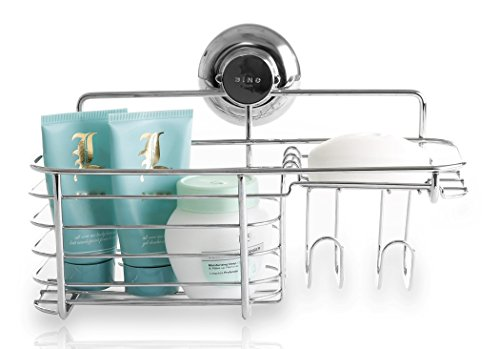 BINO SMARTSUCTION Stainless Shower Basket product image