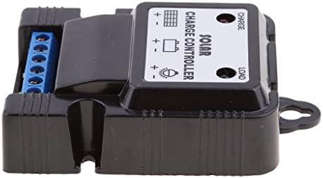 Solar Laderegler Panel Li Ion Akku Ladegerät ControllerReglerPWM7.4V3A