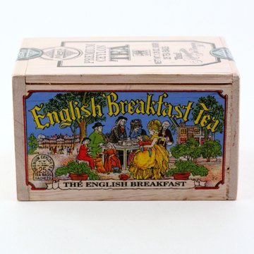 The Metropolitan Tea Company 62WD-618B-004 English Breakfast 25 Teabags in Wood Box
