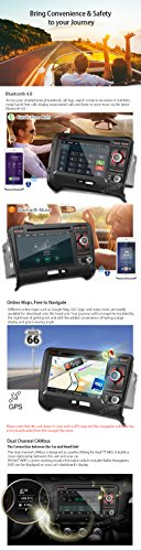 XTRONS 7 Inch Android 6.0 Octa-Core Capacitive Touch Screen Car Stereo Radio DVD Player GPS CANbus Screen Mirroring Function OBD2 Tire Pressure Monitoring for Audi TT MK2 by XTRONS (Image #6)