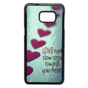 DIY LOVE Phone Case Fit To Samsung Galaxy S6 Edge Plus , Good Choice For Your Phone