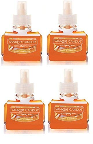 Yankee Candle Honey Clementine ScentPlug Refill 4-Pack