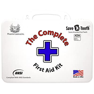 The Complete First Aid Kit Ansi First Aid Kit, White from The Complete First Aid Kit