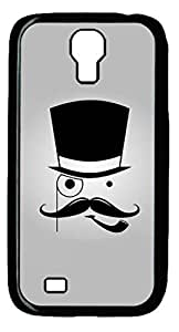 iCustomonline Bearded Face Hard Back Case Cover for Samsung Galaxy S4 I9500