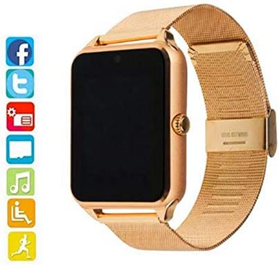 HCWF Smart Watch Plus Correa metálica Bluetooth Reloj de Pulsera ...