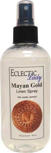 Mayan Gold Linen Spray, 16 ounces