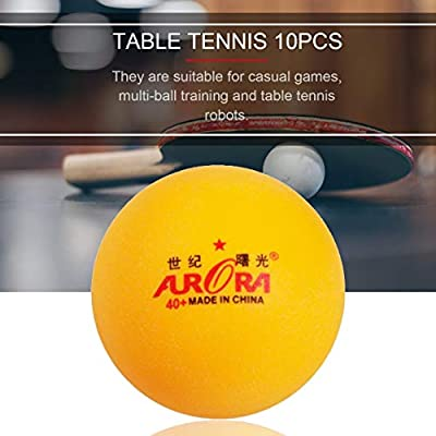 10pcs Professional Table Tennis Ball Training Ping Pong Balls for Competition
