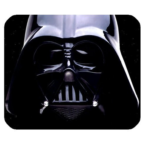 Star Wars Darth Vader Customize Standard Rectangle Black Mouse Pad Mat