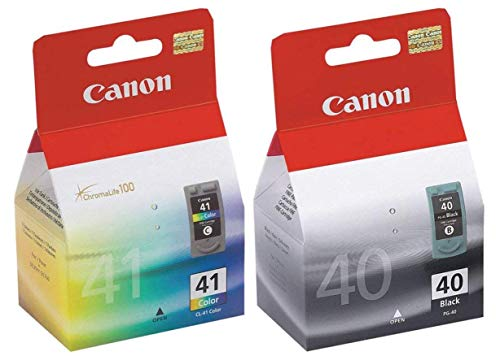 Canon PG-40 and CL-41 Ink Cartridge Set NEW ()