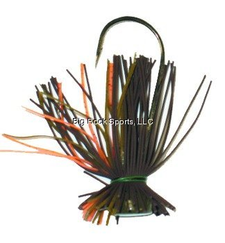 Buckeye SRFJOP14 Spot Remover Finesse Fishing Jig, 1/4-Ounce, Orange Pumpkin Finish