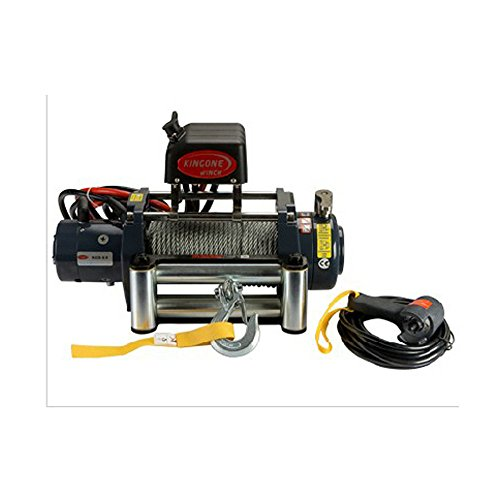 Sunny New Universal KDS-9.0 9000lb Pound Recovery Electric Winch 12V Steel Cable Rope (9000 Lb Electric Winch)