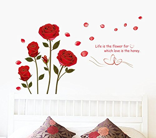 Can remove the wall stickers romantic The sitting room the bedroom home decoration wall stickers