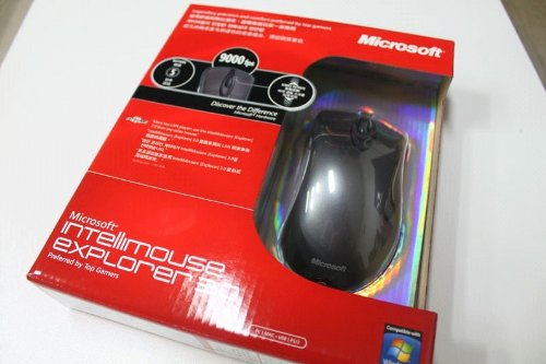 Photo - Microsoft Intellimouse Explorer Ie3.0 (Original) Gaming Mouse with Retail Box