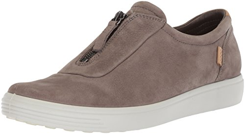ECCO Women's Women's Soft 7 Zip Sneaker, Warm Grey, 38 Medium EU (7-7.5 US)