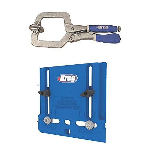 kitchen cabinet hardware jig kreg khi pull cabinet hardware jig with clamp new 18874
