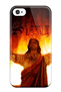 For Iphone 4/4s Tpu Phone Case Cover(anti Religious)
