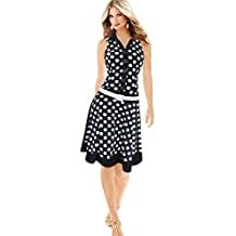 Misaky Women Mini Dress, Summer Printing Sleeveless Party Evening Short Dress