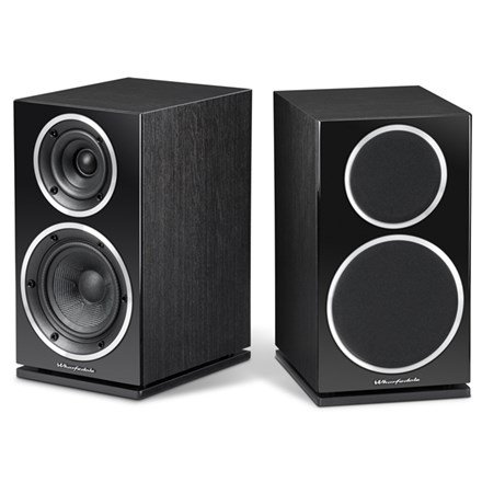 Wharfedale Diamond Series 2-Way Bookshelf Speakers (Pair) Black WHD220BLK