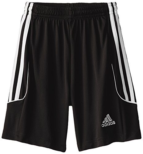 adidas Performance Boys Squadra 13 Shorts, Youth Small, Black/White