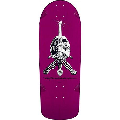 Powell-Peralta O.G. Ray Bones Rodriguez Snub Nose Skull & Sword Purple (Logo Nose Skull)