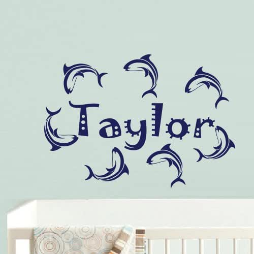 Wall Tattoo Door Wall Sticker Name request Name Nursery 1 Character Foil 0100