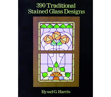 390 Traditional Stained Glass Designs - Stained Glass - Glass Edwardian Windows Stained