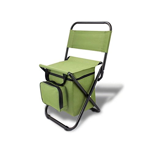 BeGrit Multi-Purpose Cooler Chair Folding Stool with Cooler Bag for Hiking Fishing Camping Picnic Backpacking by BeGrit (Image #8)