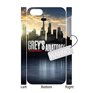 greys anatomy Iphone4,4g,4s Hard Back 3D Case. greys anatomy Custom Case for Iphone4,4g,4s at WANNG
