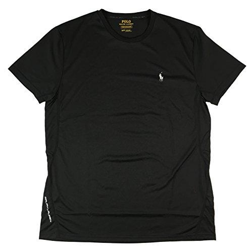 Ralph Lauren Polo Sport Performance T-Shirt Pony Logo (Small, Black)