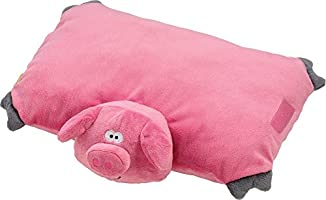 Large Poppy the Pig Pillow Pink